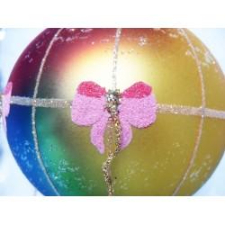 air balloon glass handmade Christmas baubles decorations