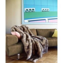 nerz kunstfelldecke fellimitat decke felldecke. Black Bedroom Furniture Sets. Home Design Ideas