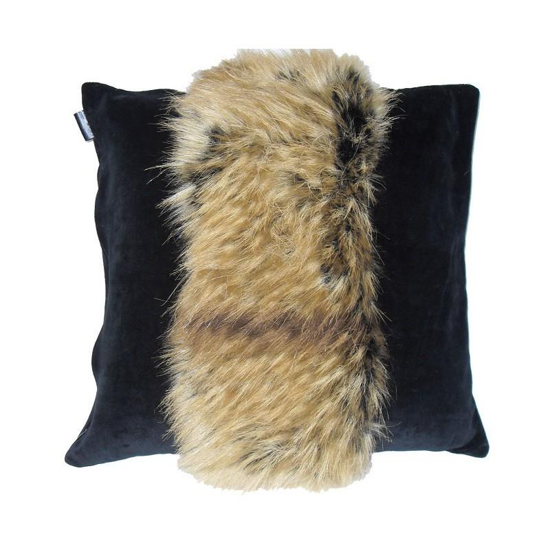 pillow case optic fur raccoon