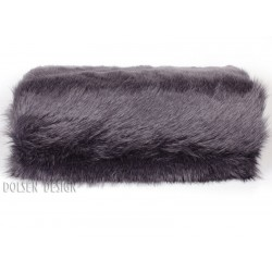 ostrich feathers imitation throw blanket