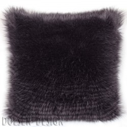ostrich feathers imitation cushion case 50x50cm