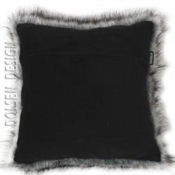 Silberfuchs Kunstfell- Kissenbezug aus Frankreich 50x50cm