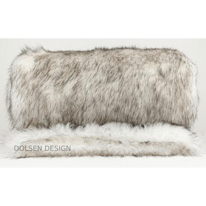 Fall Winter Arctic Fox Faux Fur Throw 140x180cm Dolsen Design