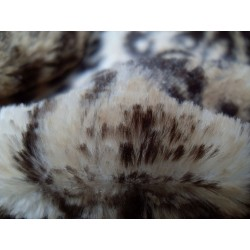 leopard faux fur throw blanket