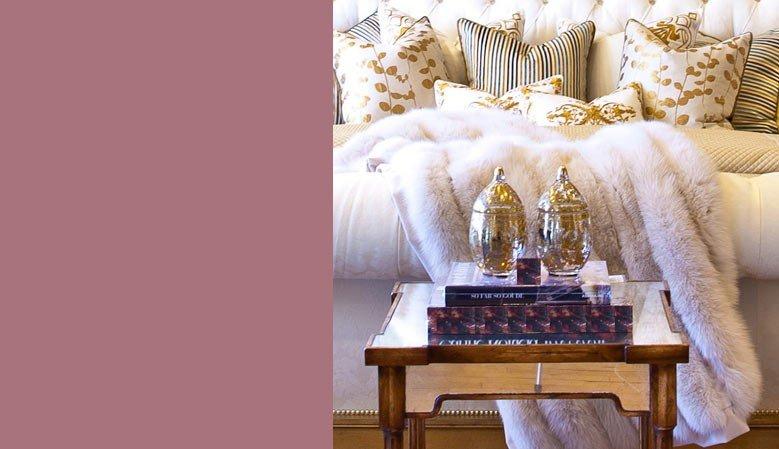 couvertures plaids couvre lits en fausse fourrure dolsen design. Black Bedroom Furniture Sets. Home Design Ideas